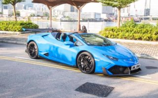 DMC tuned Lamborghini Huracan 1 320x200 DMC tuned Lamborghini Huracan Spyder packs 1073 hp, does 0 100 kmph in less than 2.7 seconds