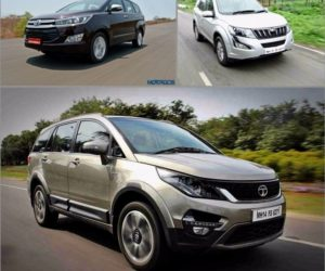 Hexa vs Innova Crysta vs XUV500 300x250 Tata Hexa vs Toyota Innova Crysta vs Mahindra XUV500 : Tech Spec Comparo
