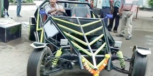 Kharghar Buggy 1 500x250 Mumbai: Kharghar teenager builds his own buggy watching Youtube videos