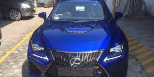 Lexus RC F Motoroids 8 500x250 Somebody ordered for a Lexus RC F in Chennai
