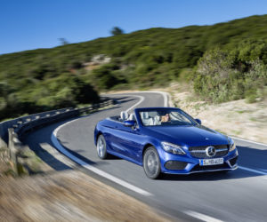 Mercedes Benz C Class Cabriolet 300x250 Mercedes Benz C Class Cabriolet and S Class Cabriolet India launch to take place on November 9th