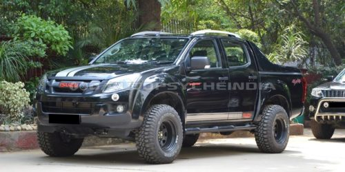 Modified Isuzu D MAX V Cross by Autopsyche 6 500x250 Pray that this modified Isuzu D MAX V Cross doesnt cross paths with you