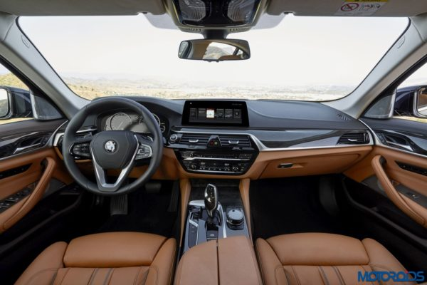 2017 BMW 5-series India launch interiors