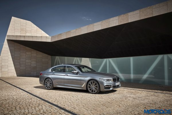 2017 BMW 5-series India launch exterior