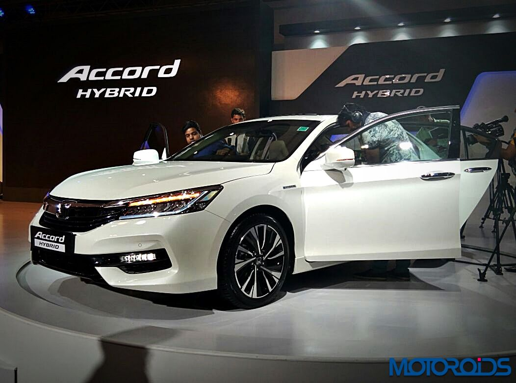New Honda Accord Hybrid launched in India at INR 37 lakh ...