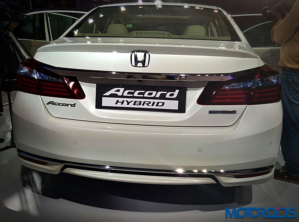new honda accord hybrid launched in india at inr 37 lakh ex delhi motoroids. Black Bedroom Furniture Sets. Home Design Ideas