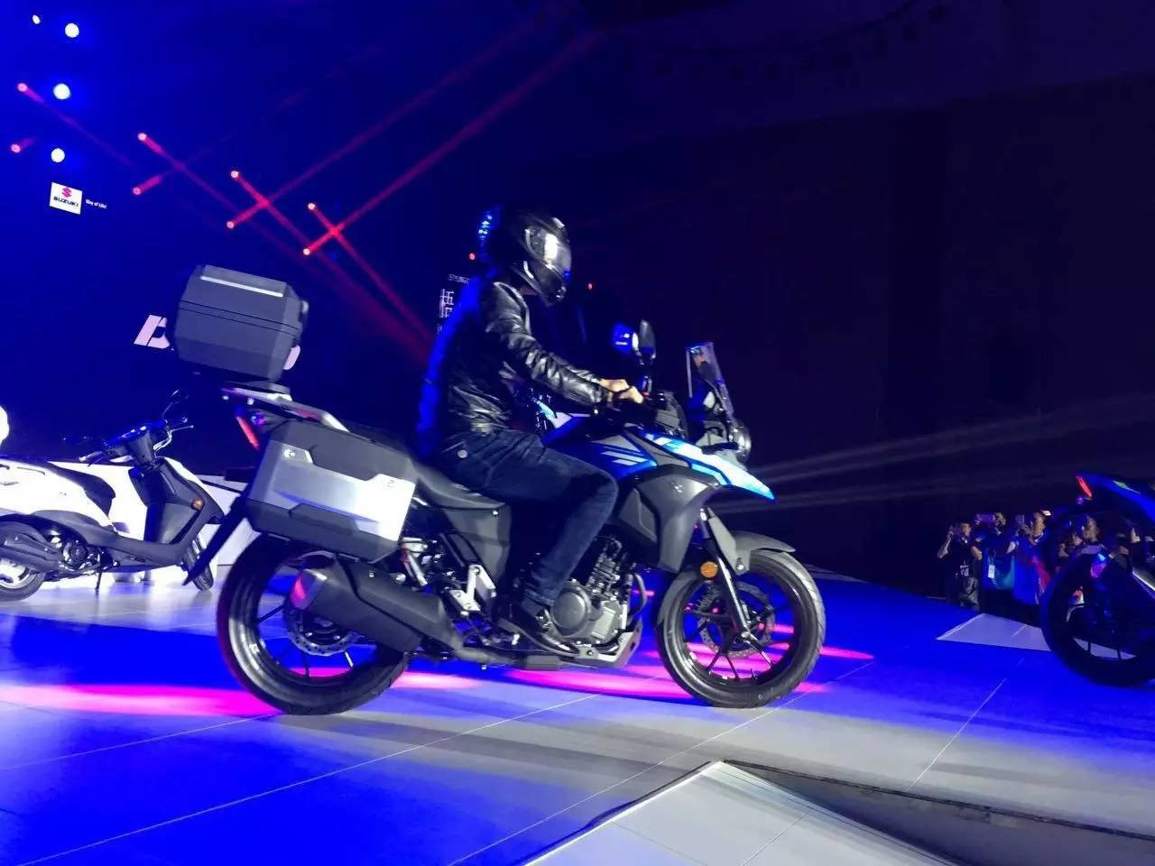 suzuki dl250 (v-strom 250) concept unveiled : details, images and
