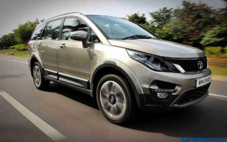 Tata Hexa 128 320x200 Tata Hexa Launch Scheduled to Take Place on January 18