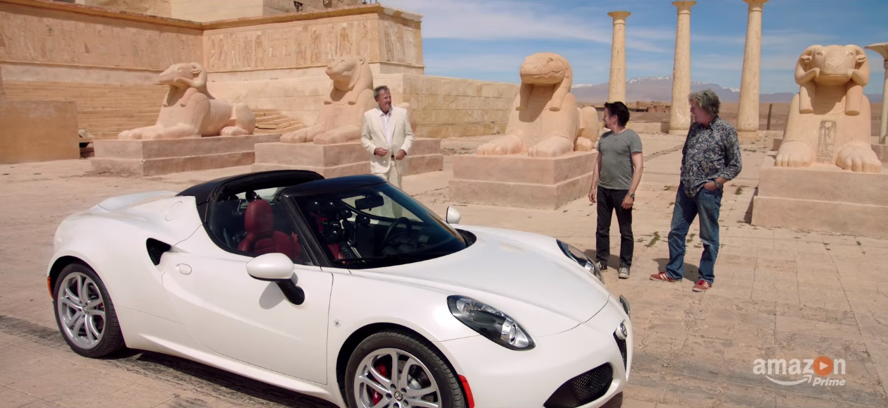 the grand tour just dropped its first trailer and its good ol 39 top gear once again motoroids. Black Bedroom Furniture Sets. Home Design Ideas