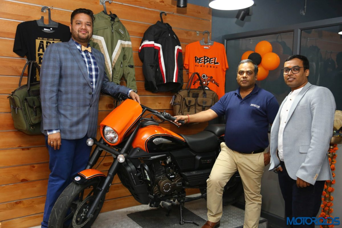 um motorcycles opens new dealership in lucknow 2