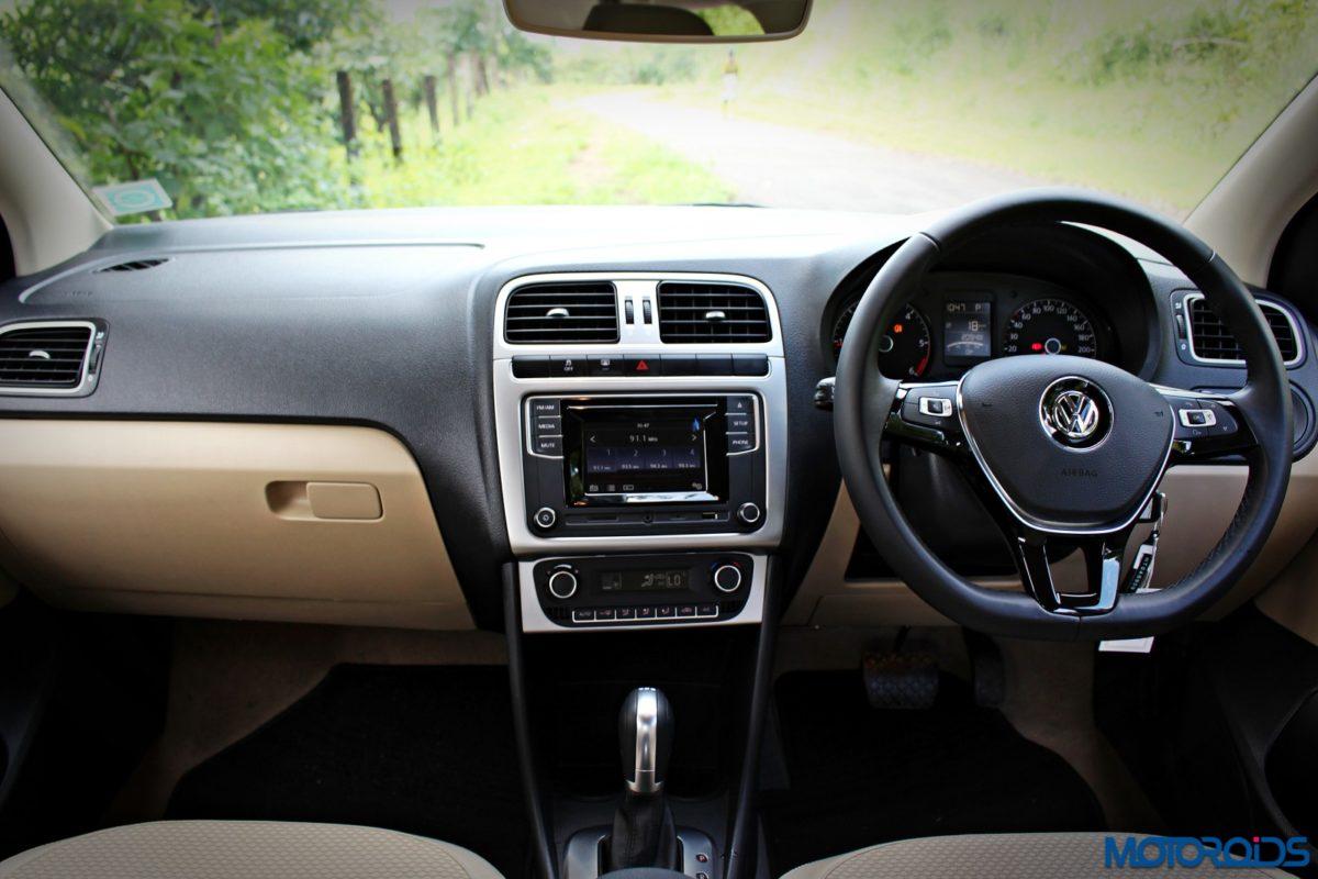 volkswagen ameo diesel 1 5 dsg dashboard 1