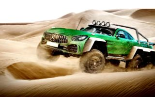lead E carwow Mercedes AMG GT R 6x6 1 1 320x200 These 10 car mashups are downright mental!