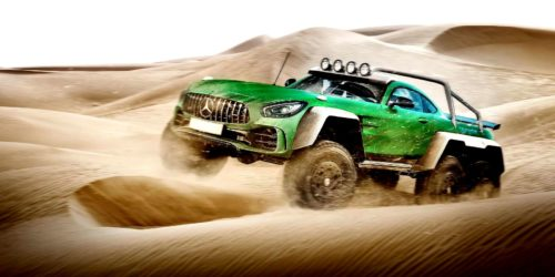 lead E carwow Mercedes AMG GT R 6x6 1 1 500x250 These 10 car mashups are downright mental!