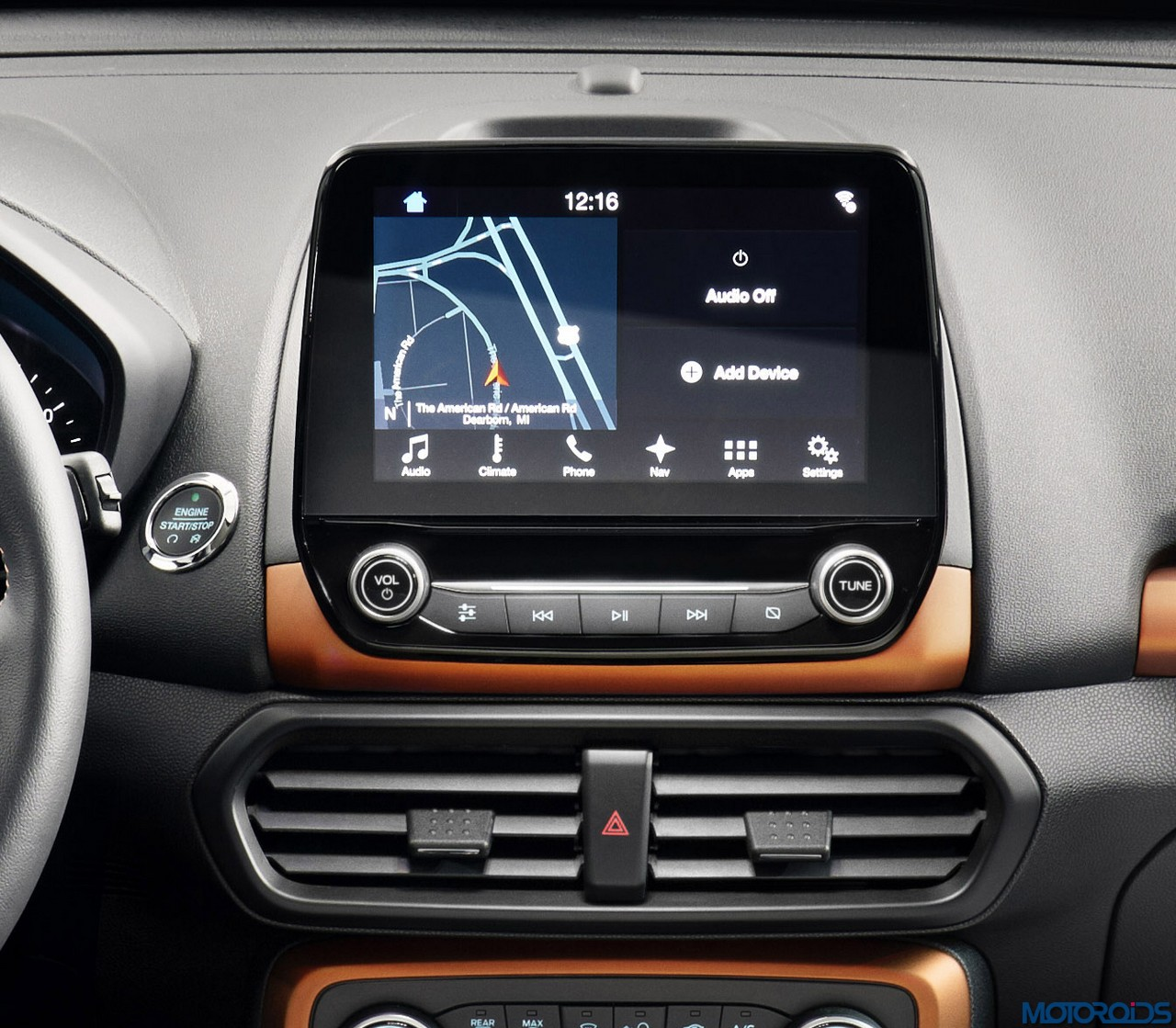 All New Ford EcoSport SES Features Unique Interior Styling Cues Such As Bold Copper Accents