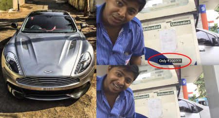 aston-martin-vanquish-surat-petrol-bunk-attendants-reaction
