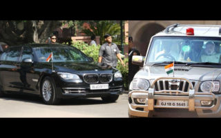 BMW Narendra Modi Official Car FB 320x200 Why does Narendra Modi use an armoured, INR 5 crore BMW instead of a India made vehicle?