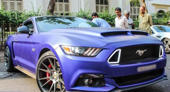 Check Out Rohit Shetty's Customized Ford Mustang GT