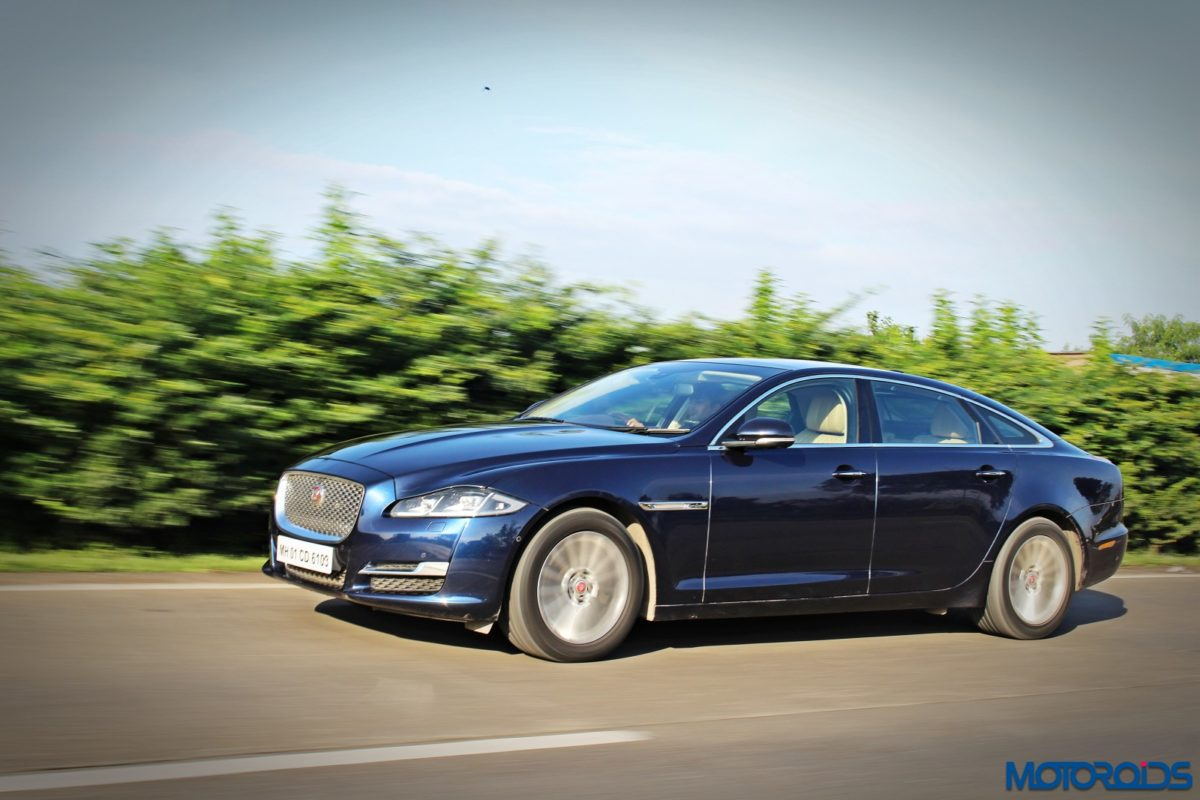 jaguar xjl review action shots 2