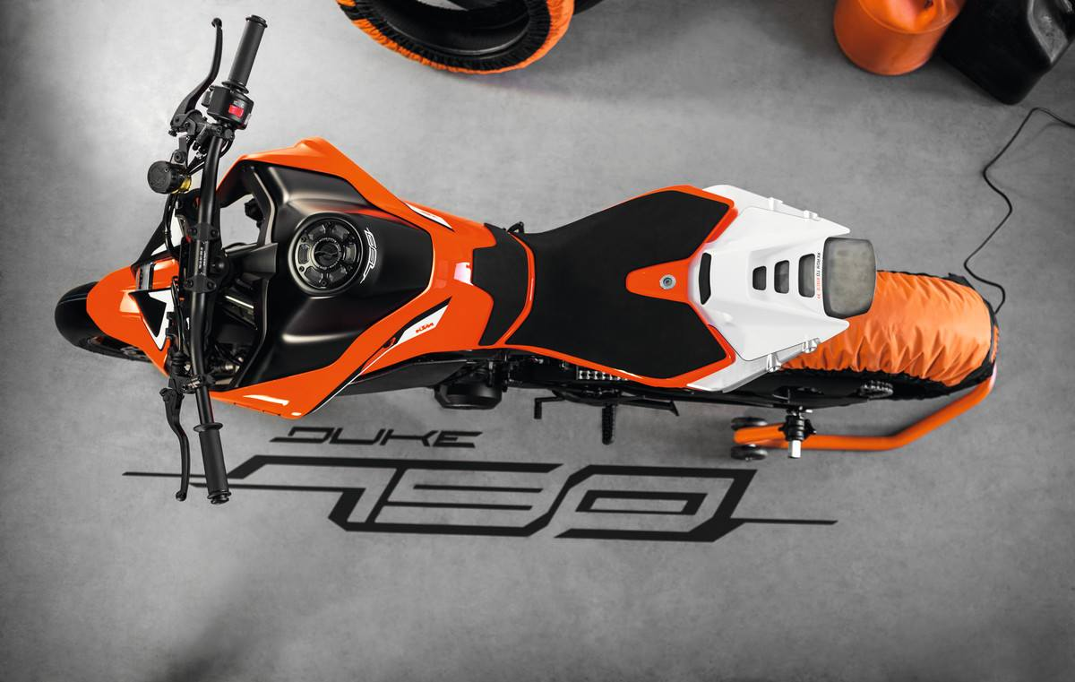 Ktm Duke  Degree View