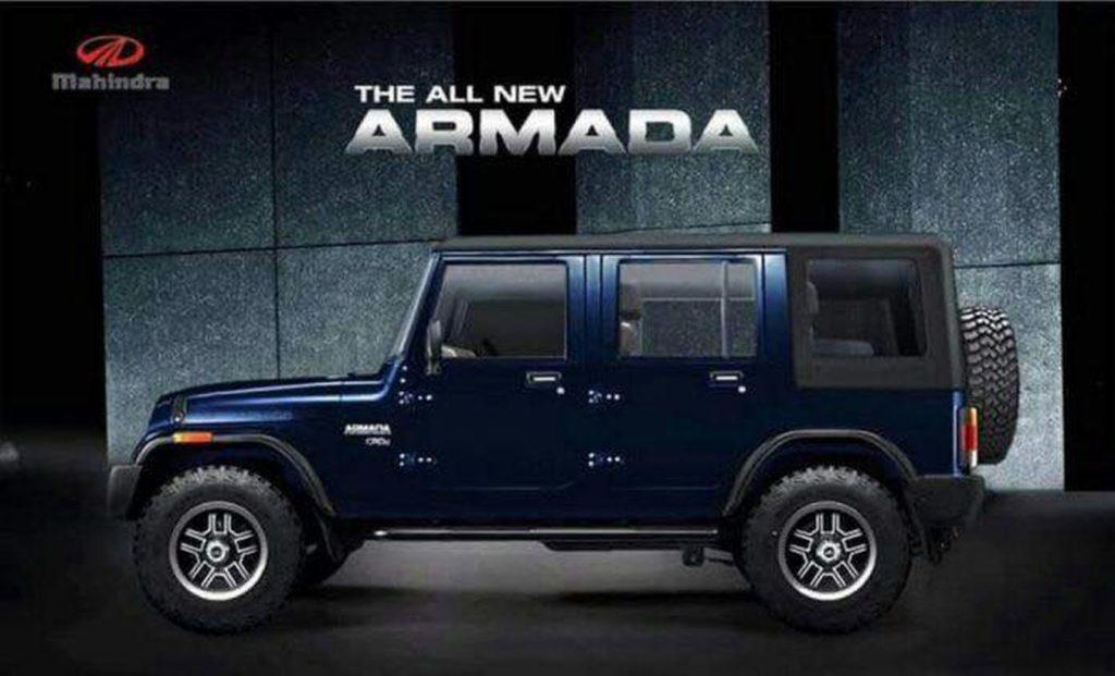 Latest Rendering Of The Mahindra Armada Ignites New Hopes