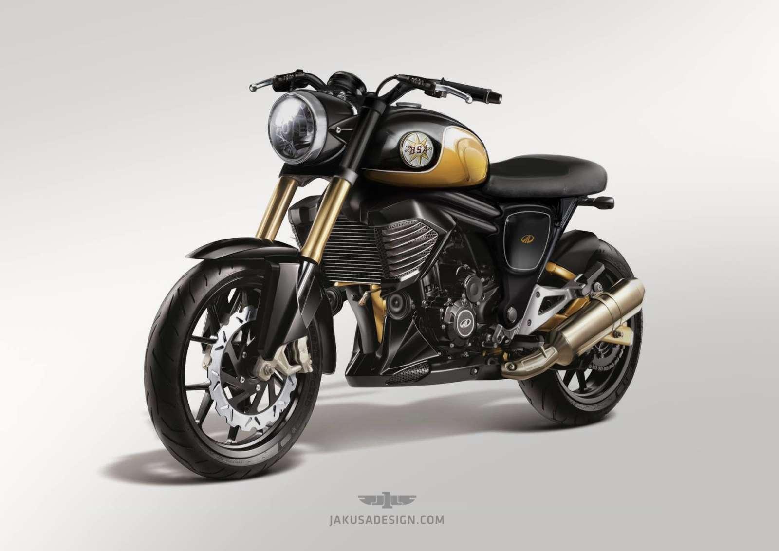 Mahindra Mojo Gets A Bsa Motorcycles Inspired Retro Outfit