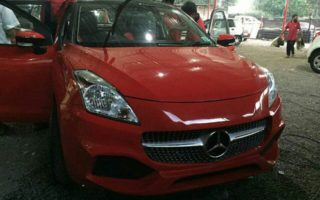 This Maruti Baleno to Mercedes A Class conversion will make you want to shoot yourself