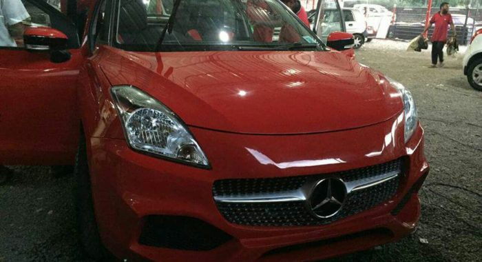 This Maruti Baleno to Mercedes A-Class conversion will make you want to shoot yourself