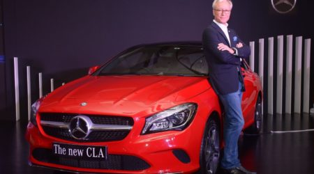 Mercedes-Benz CLA-Class facelift launched in India at INR 31.40 lakh (Ex-Mumbai)
