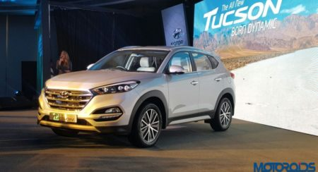 2016 Hyundai Tucson launched in India, Priced INR 18.99 lakh (Ex-Delhi) : Images and All the Details