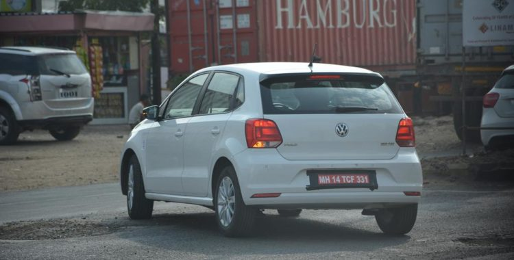 150 hp volkswagen polo 180 tsi spied testing in india motoroids. Black Bedroom Furniture Sets. Home Design Ideas