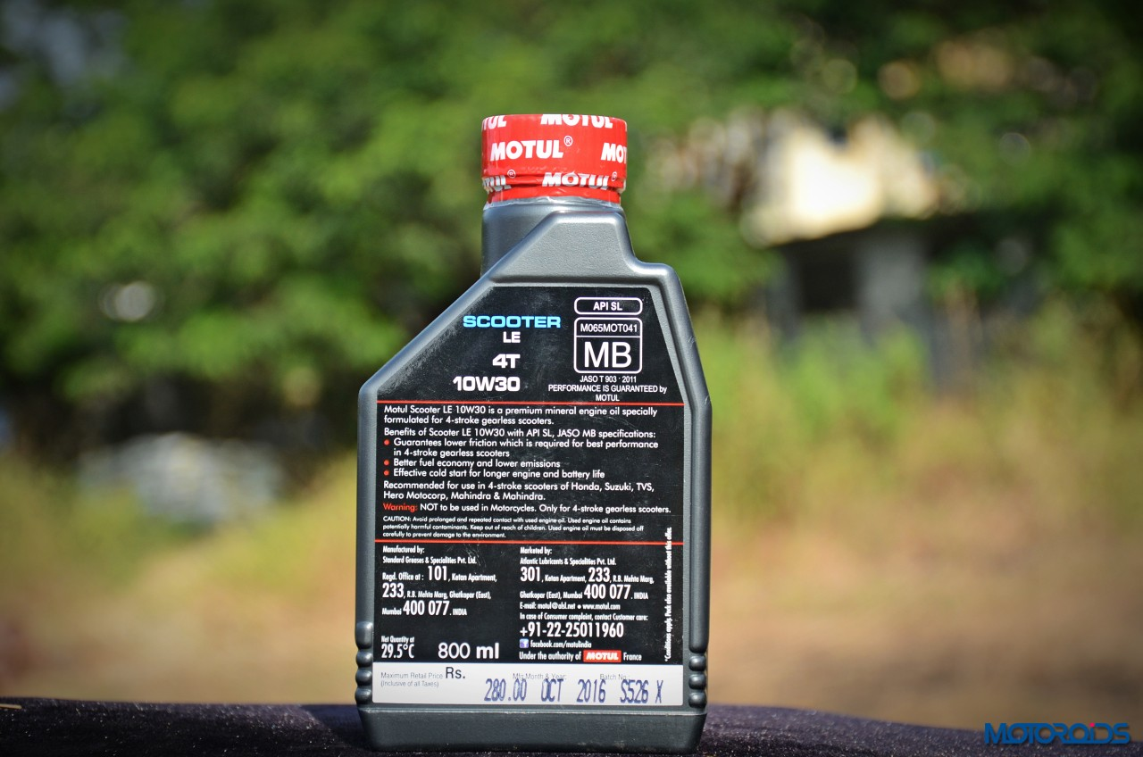 Motul All About Lubes : Choosing The Right Oil for your