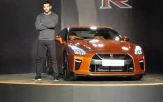 2017 Nissan GT R 1 1 320x200 2017 Nissan GT R launched in India; priced at INR 1.99 Crores (Ex showroom Delhi)