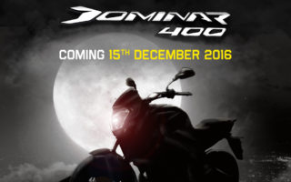 Bajaj Dominar 400 Teaser 320x200 Bajaj Dominar 400 micro site goes live; teased for the first time