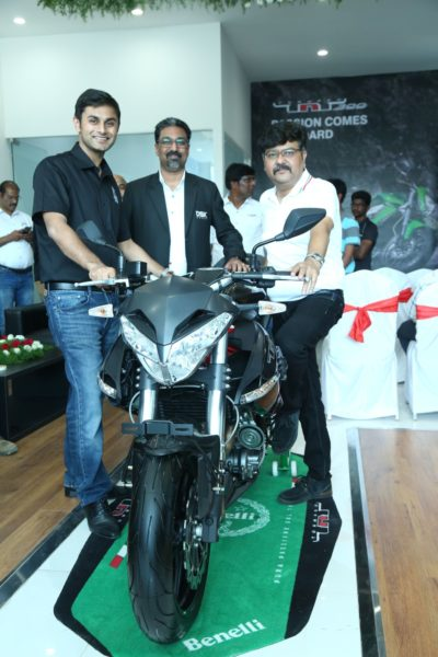 DSK Benelli announces the launch of its first showroom in
