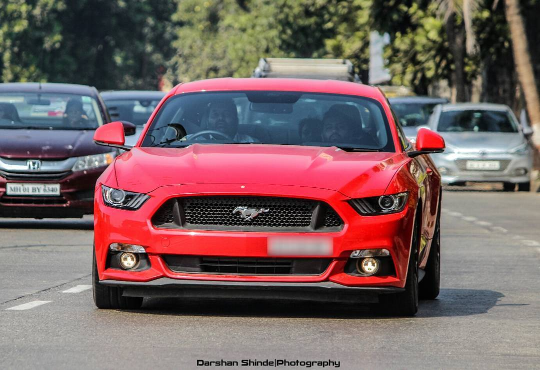 Indias most powerful ford mustang gt packs 717 bhp does 0 100 kmph in 3 6 seconds