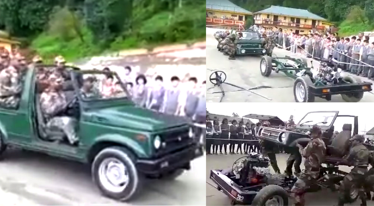 VIDEO: Watch the Indian Army Dismantle and Reassemble a