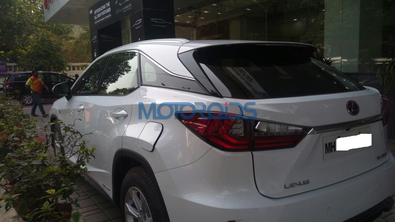 Lexus Rx 450h Deliveries Begin Ahead Of Official Launch