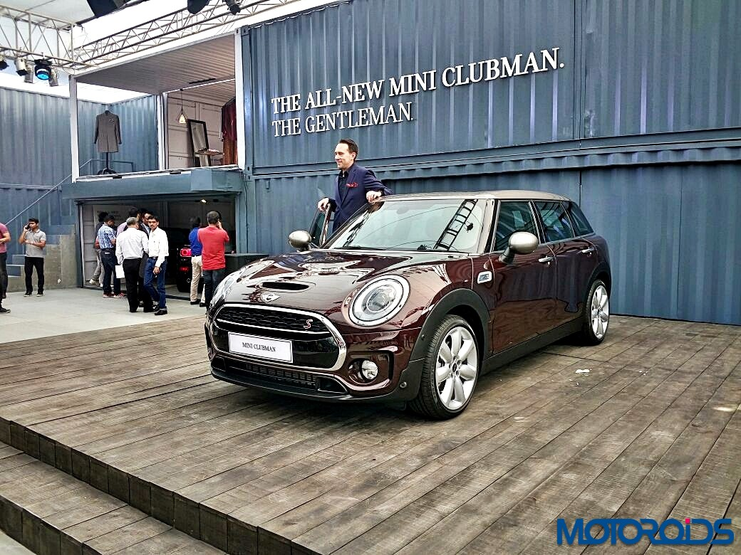 all new mini clubman arrives in india priced at inr lakh motoroids. Black Bedroom Furniture Sets. Home Design Ideas