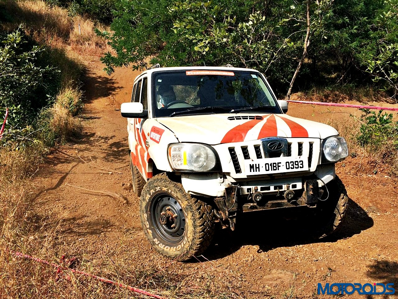 Learn How to Off-Road : The Mahindra Adventure Off Road ...
