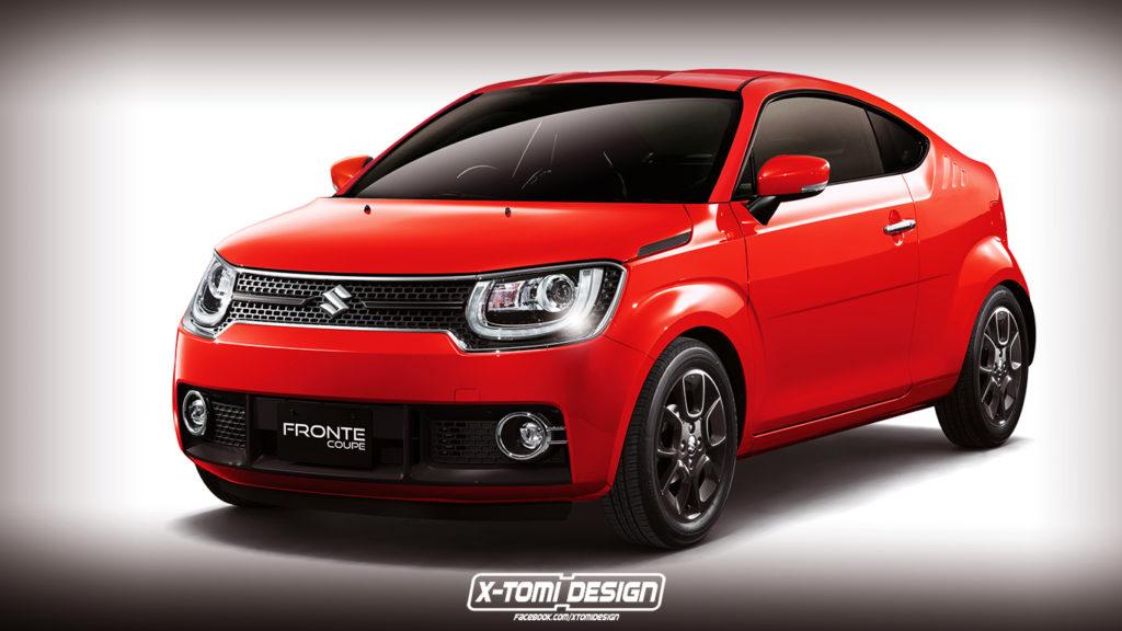 Maruti Suzuki Ignis 2 door coupe render