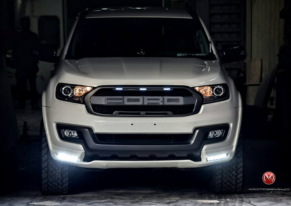 Customized Ford Endeavour From Bengaluru Looks White Hot! | Motoroids