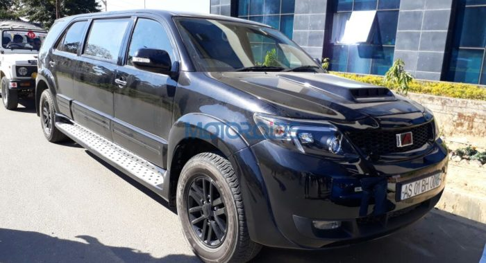 This modified Toyota Fortuner stretch will set you back by a whopping INR 70 lakh!