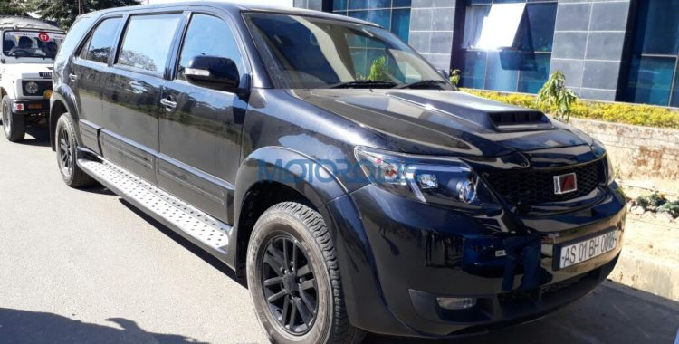 Modified Toyota Fortuner stretch 1 750x380 This modified Toyota Fortuner stretch will set you back by a whopping INR 70 lakh!