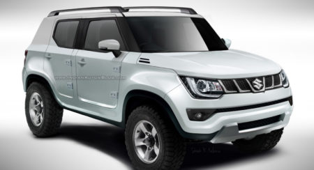 Next-generation Maruti Gypsy