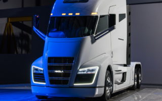 Nikola One 2 320x200 The Nikola One is a Hydrogen Electric Semi With 1,000HP And Up To 1,200 Miles Of Range