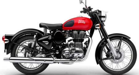 Royal Enfield Classic 350 Redditch Red With Rear Disc Brake Launched In India