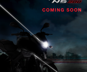 2017 Bajaj Pulsar NS200 teaser 300x250 2017 Bajaj Pulsar NS200 teased, India launch soon
