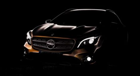 2017 Mercedes-Benz GLA face-lift