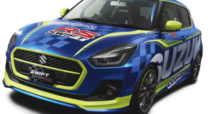 The 2017 Suzuki Swift Racer RS Concept Is For The Boy Racer In You
