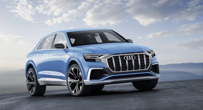 The New Audi Q8 Concept Previews Audi's Flagship SUV